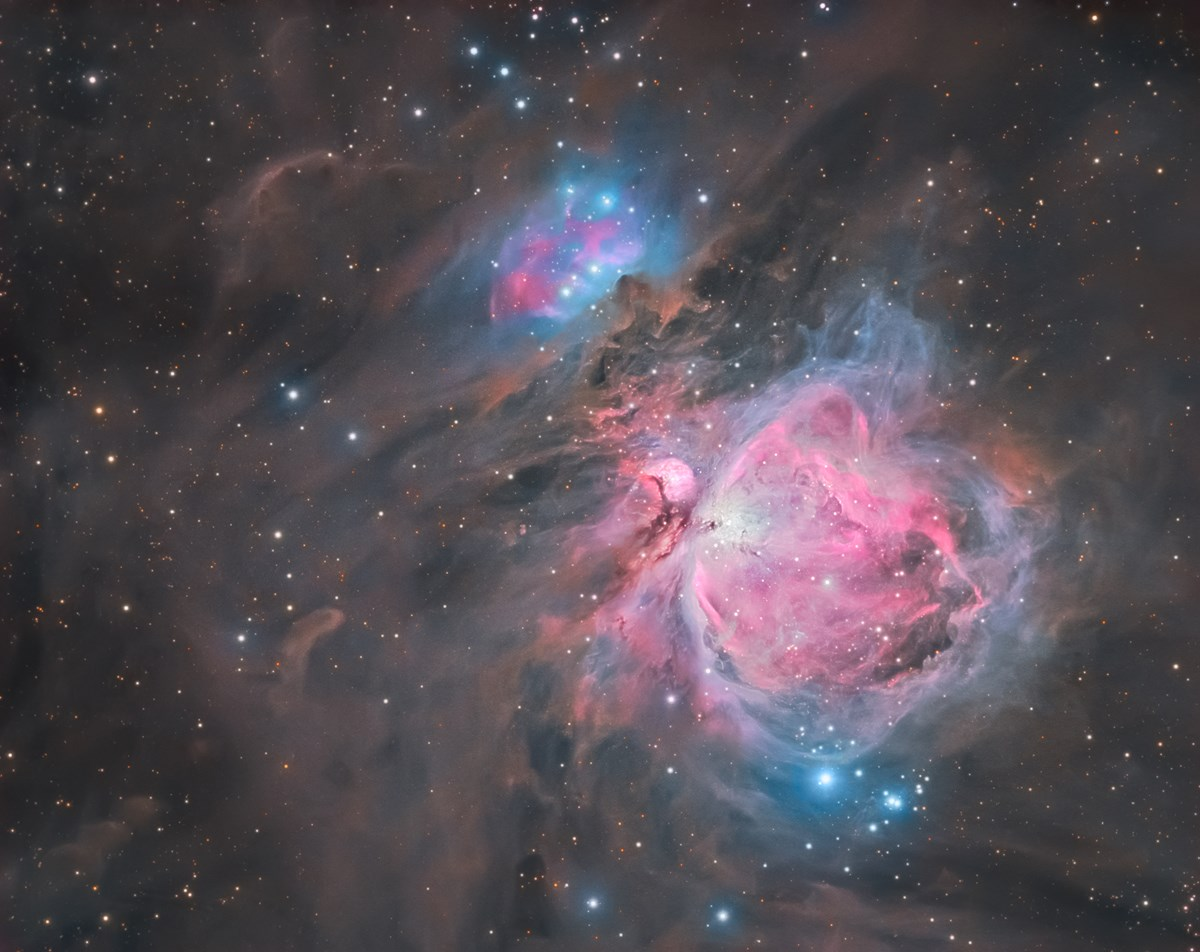 Astrophotography  M42 - The Orion Nebula photo
