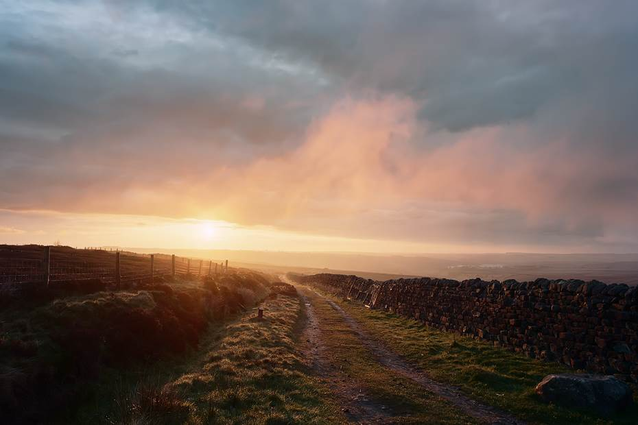 Askwith moor dawn